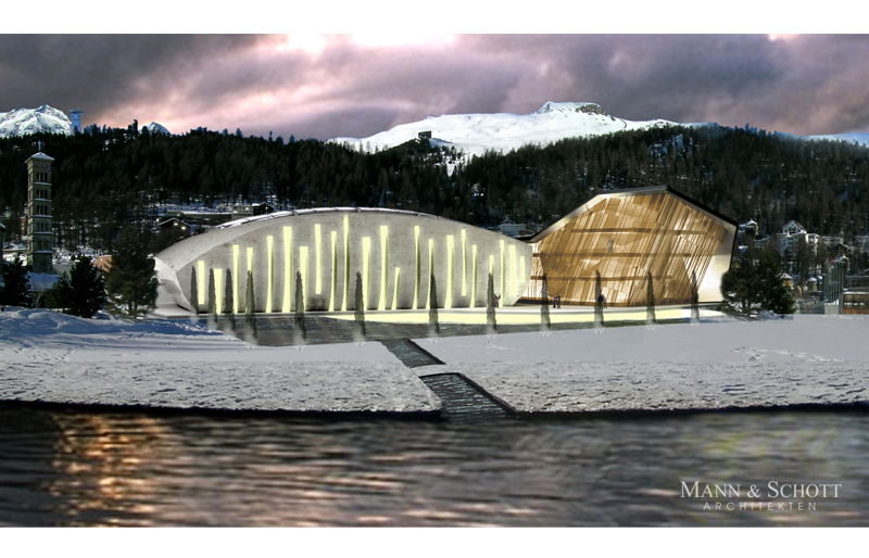 Feasibility study for a sports and leisure center in St. Moritz